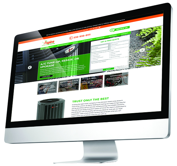 web design Winston Salem