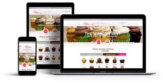 Ava's Cupcakes Responsive Website Design