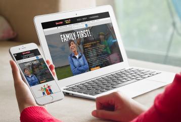 Example of Peters Auto Mall Custom Website